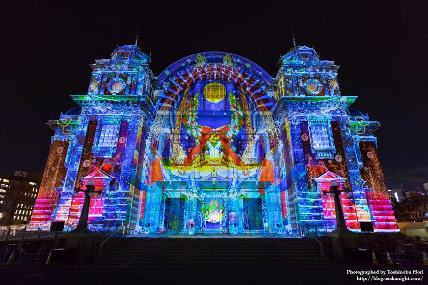 OSAKA光のルネサンス2017 ウォールタペストリー 大阪市中央公会堂特別公演 02