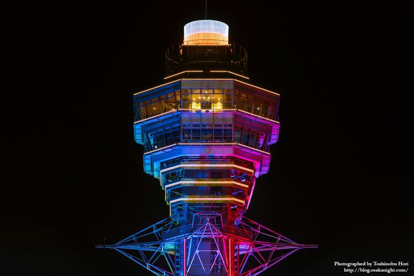 通天閣 2025年国際博覧会誘致 特別ライトアップ 2018年3月 04