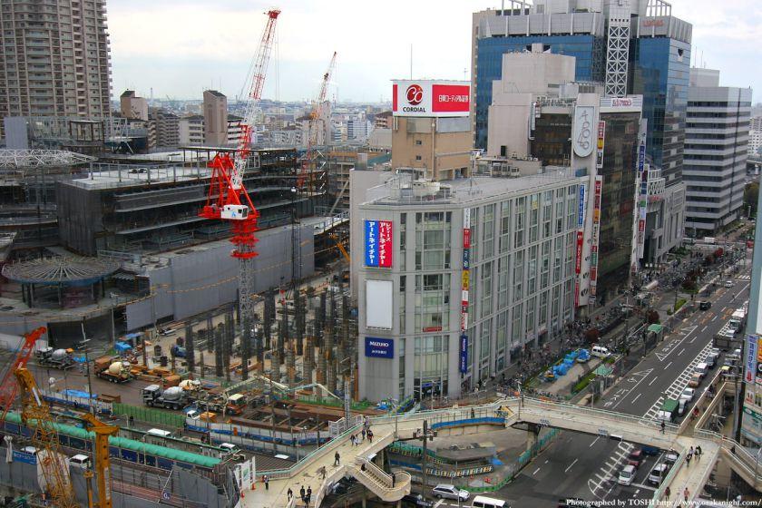 阿倍野A1地区再開発A1-2棟 2010年4月