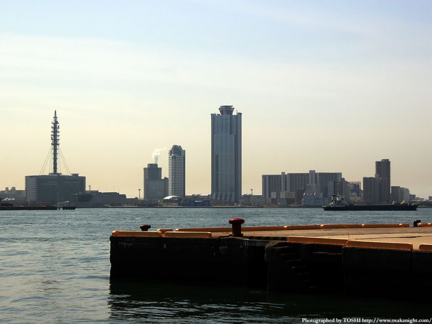 大阪南港WTC周辺の遠景