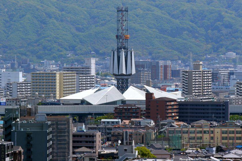いのちの塔からの眺め 三井アウトレットパーク大阪鶴見