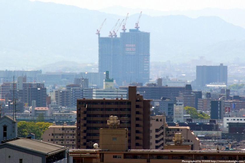 いのちの塔からの眺め メガシティタワーズ