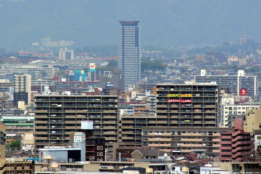 いのちの塔からの眺め メロード吹田