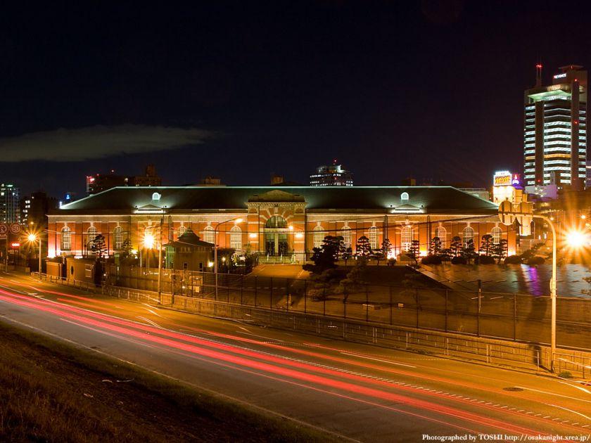 水道記念館 ライトアップ