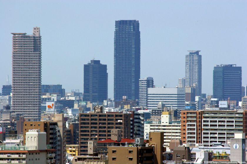 いのちの塔からの眺め 北浜タワー