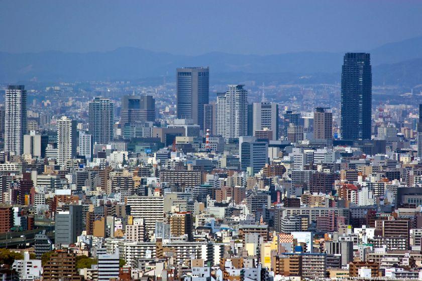 WTCコスモタワーから見た大阪都心01