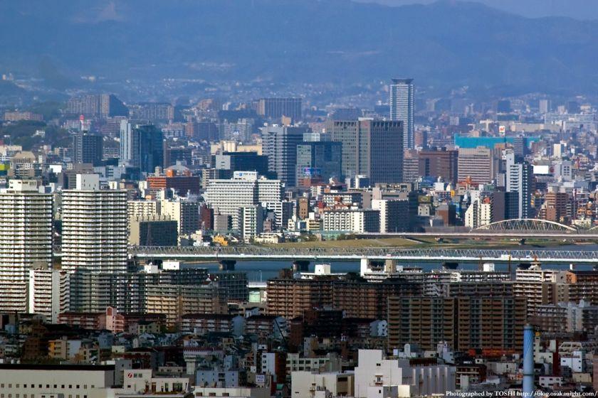 WTCコスモタワーから見た新大阪