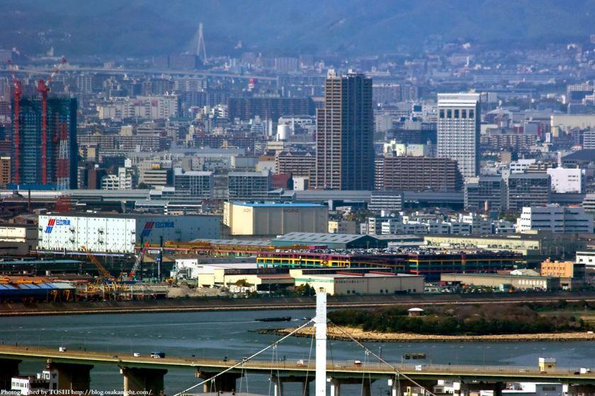 WTCコスモタワーから見た尼崎