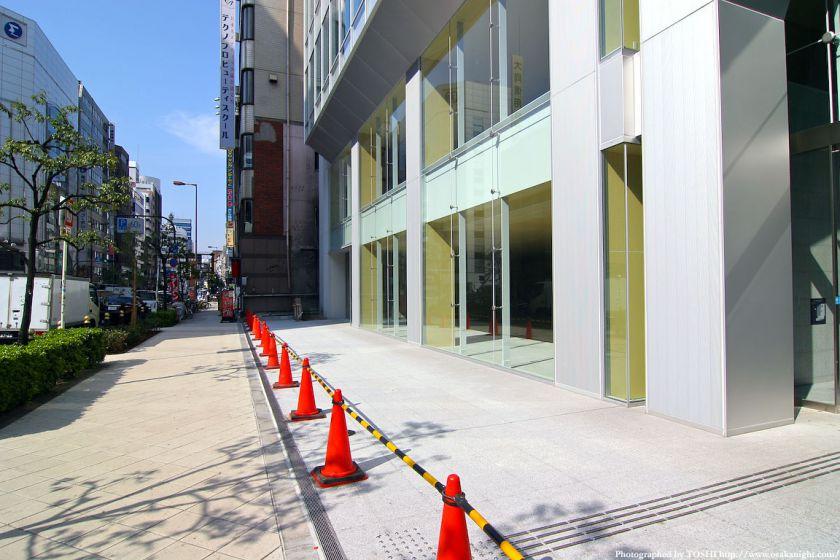 北堀江1丁目プロジェクト 四つ橋筋側正面