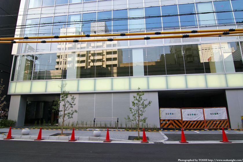 北堀江1丁目プロジェクト 裏側