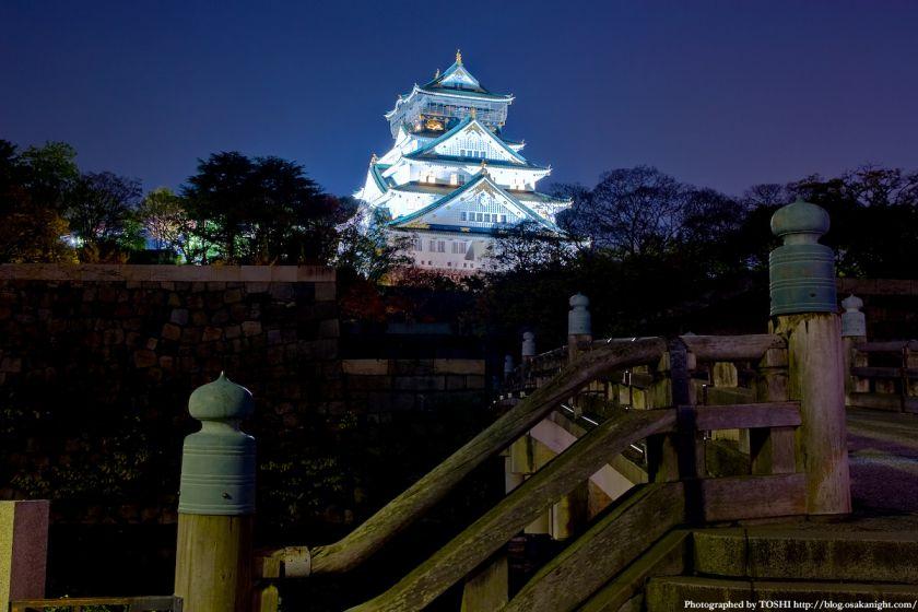 大阪城天守閣 夜景 03