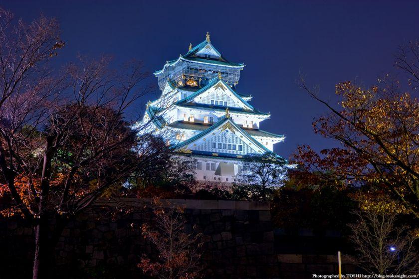 大阪城天守閣 夜景 05