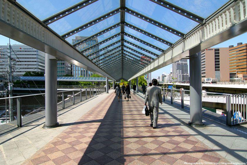 新大阪駅 ペデストリアンデッキ