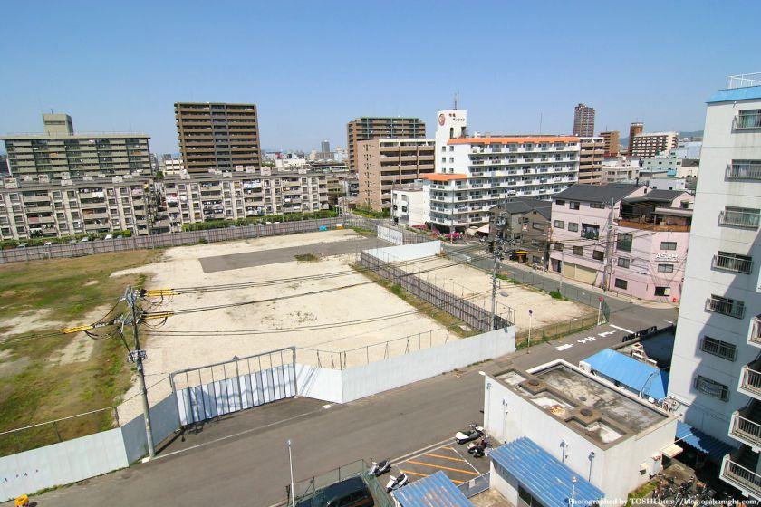 (仮称)城東区永田三丁目計画 建設予定地 2010年6月 03