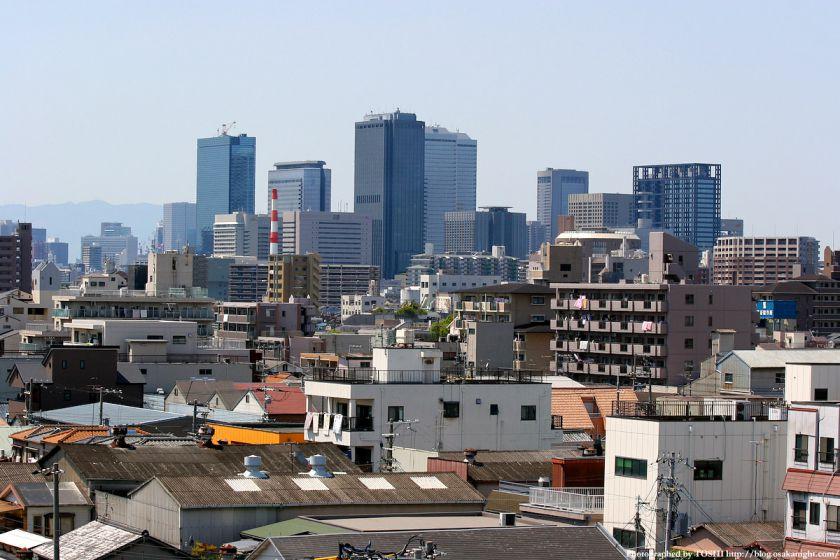 城東区永田から見た京橋OBP