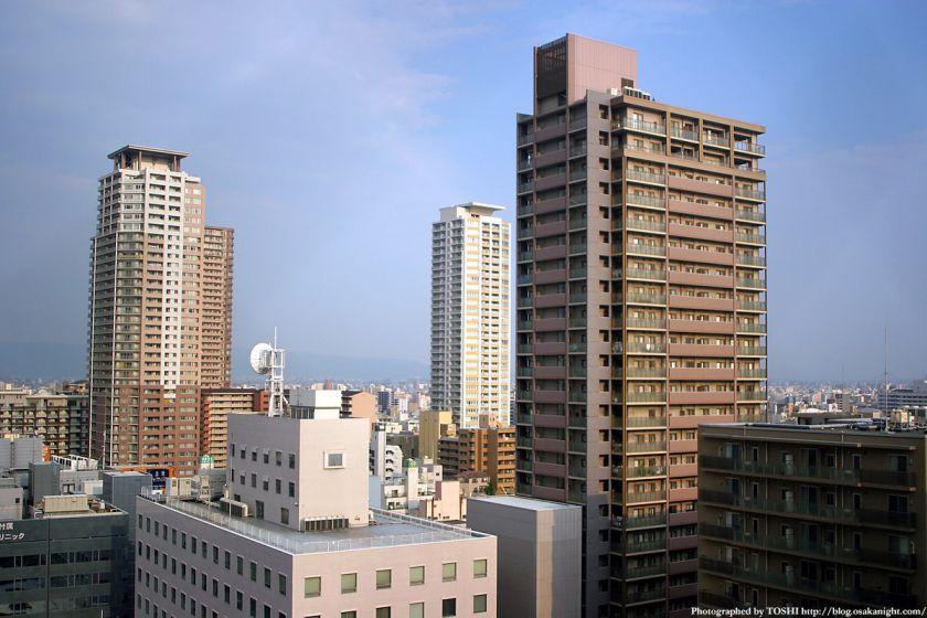上本町タワーマンション群
