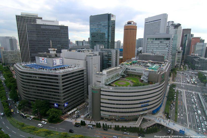 梅田阪急ビル スカイロビー 大阪駅前ダイヤモンド地区