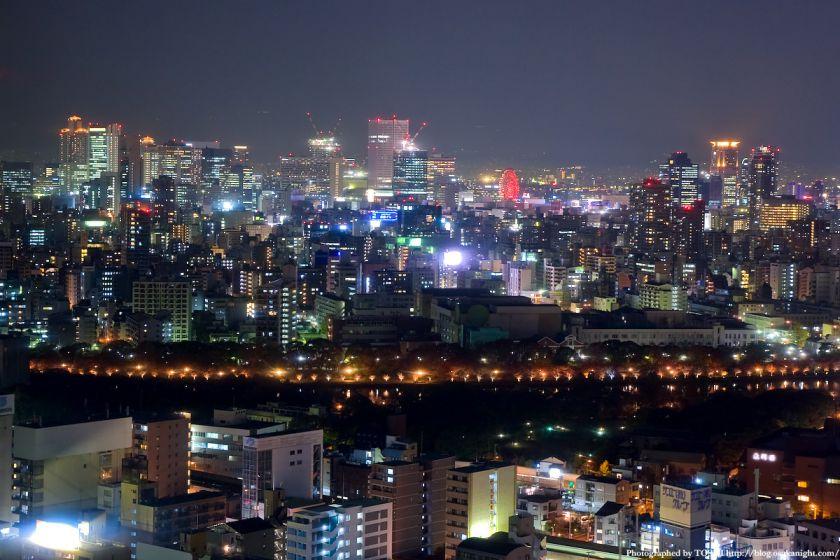 松下IMPビルから見た梅田夜景 01