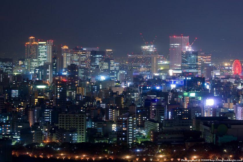 松下IMPビルから見た梅田夜景 02