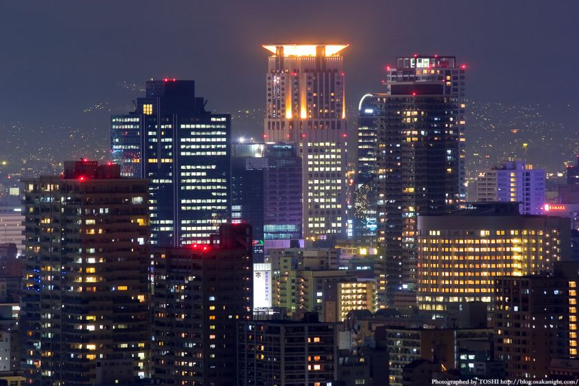 松下IMPビルから見た梅田夜景 05