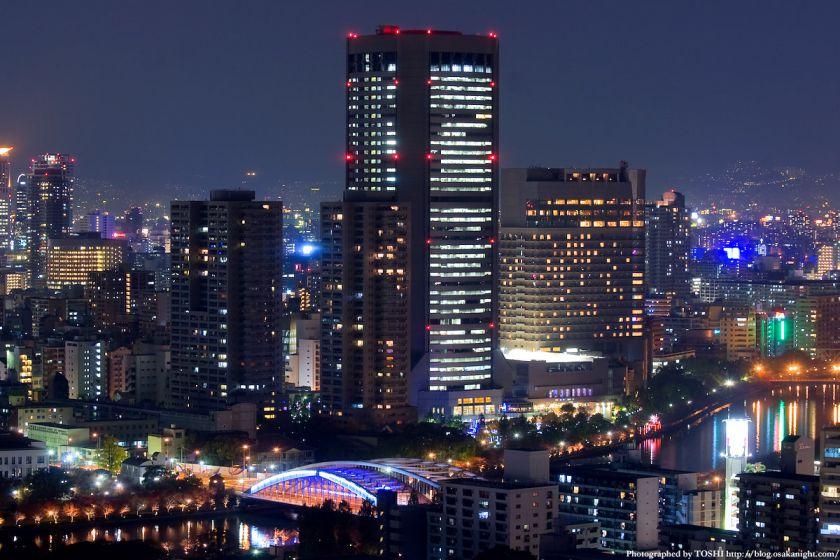OAP 大阪アメニティパーク 夜景