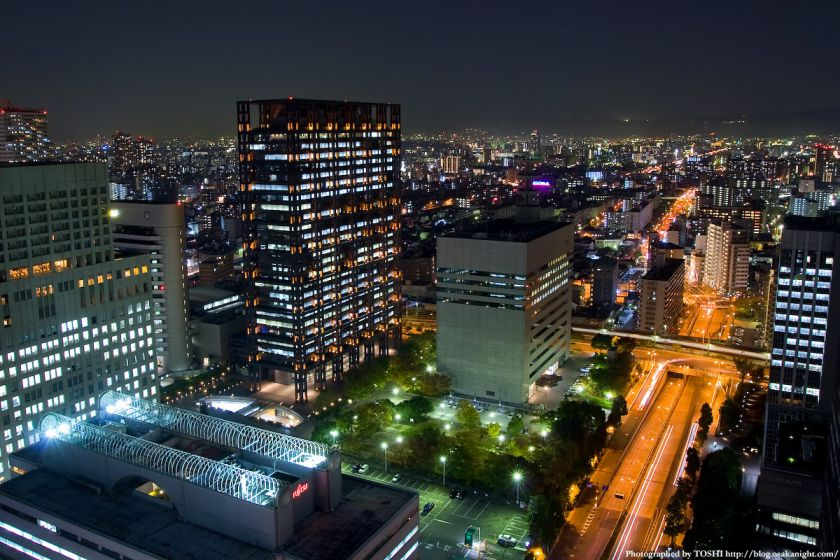 OBP 大阪ビジネスパーク 夜景