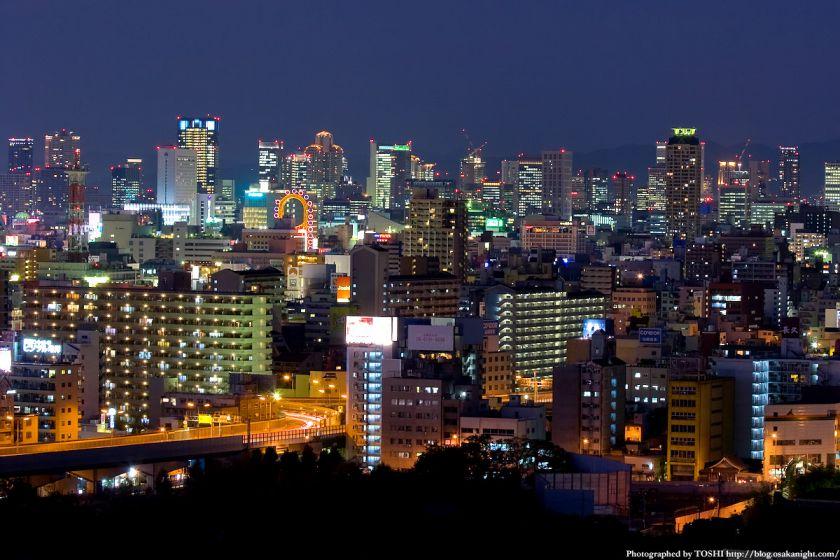 梅田方面 夜景