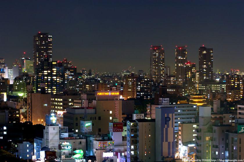 上本町 夜景