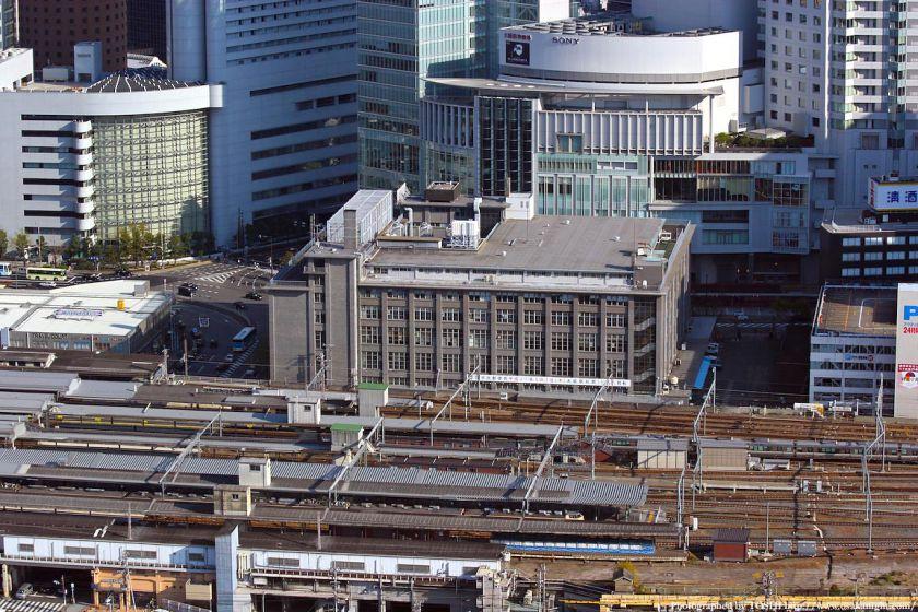 大阪中央郵便局 建て替え前の様子
