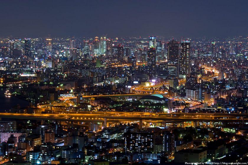 大阪・梅田の夜景 from WTC