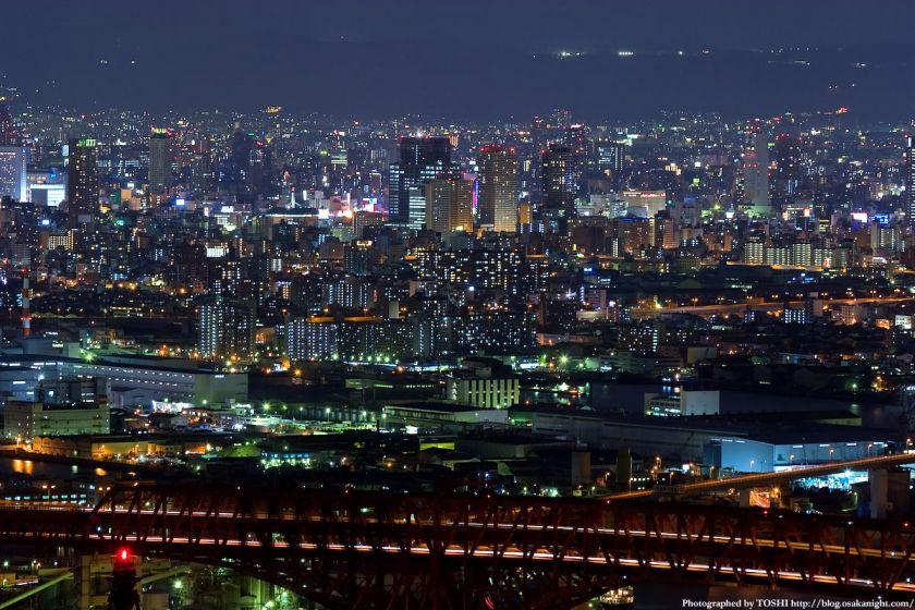 大阪・難波の夜景 from WTC
