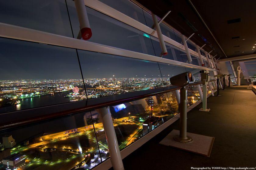 WTCコスモタワー展望台の様子