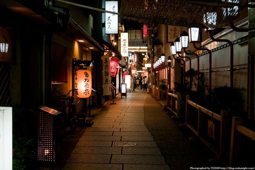 法善寺横丁の夜景 05
