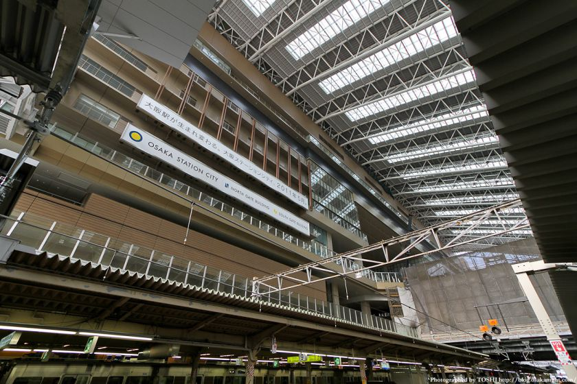 大阪駅 ドーム屋根 01