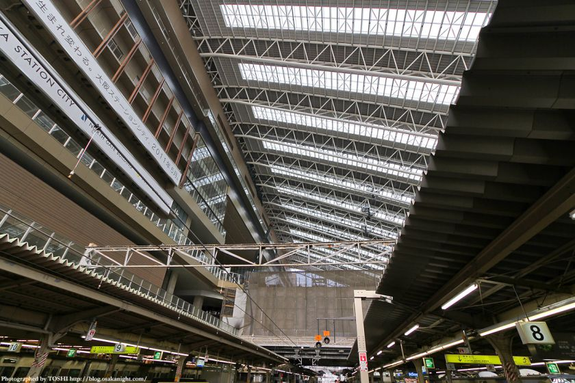大阪駅 ドーム屋根 03