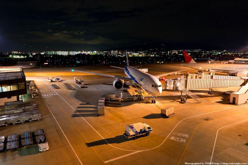 伊丹空港 夜景 01