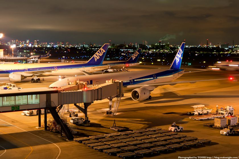 伊丹空港 夜景 02