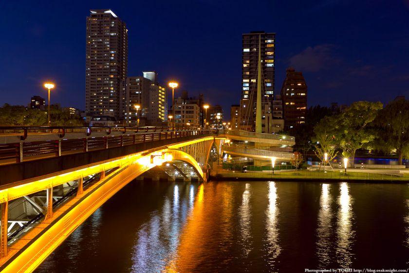 天神橋 剣先公園への螺旋階段