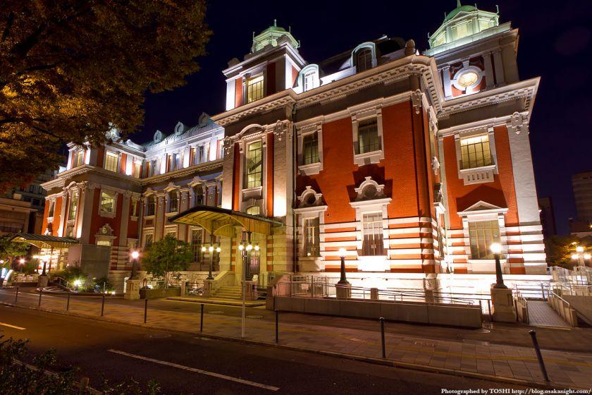 大阪市中央公会堂の夜景 03