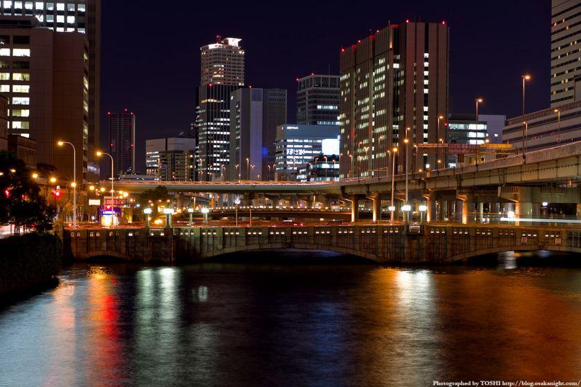 大江橋 夜景