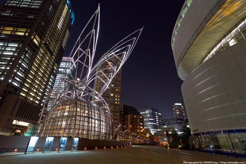 国立国際美術館 夜景 02