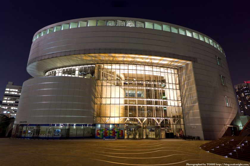 大阪市立科学館 夜景