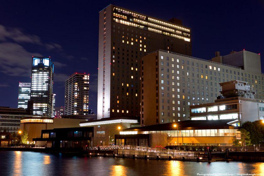 リーガロイヤルホテル大阪 夜景