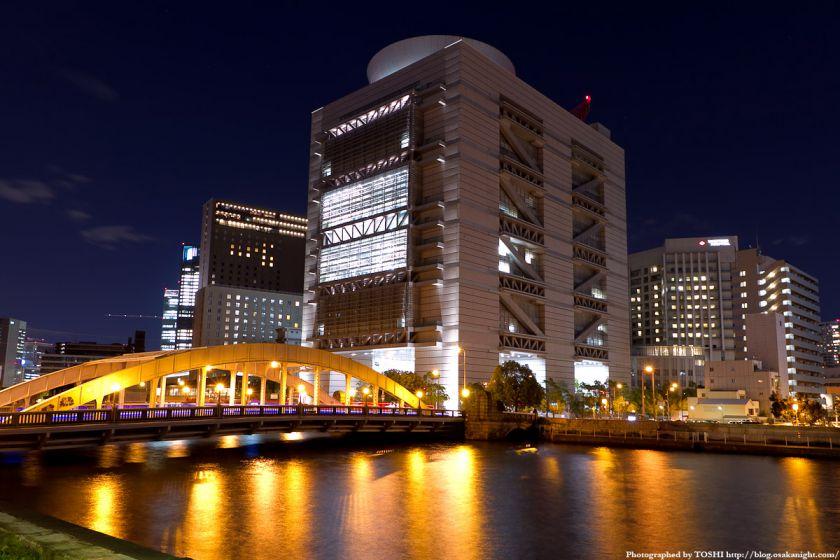 堂島大橋の夜景 01(大阪国際会議場)
