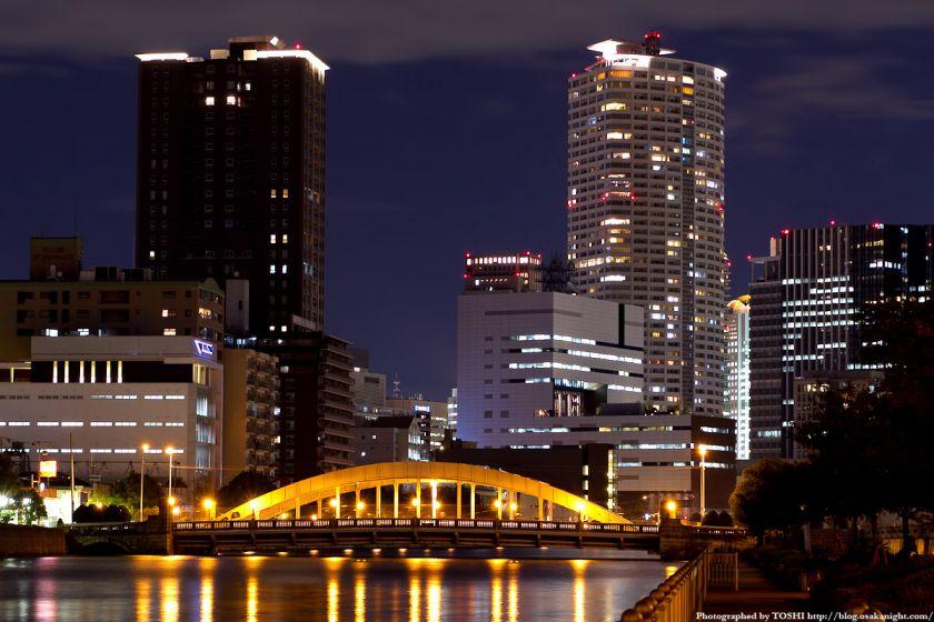堂島大橋の夜景 02
