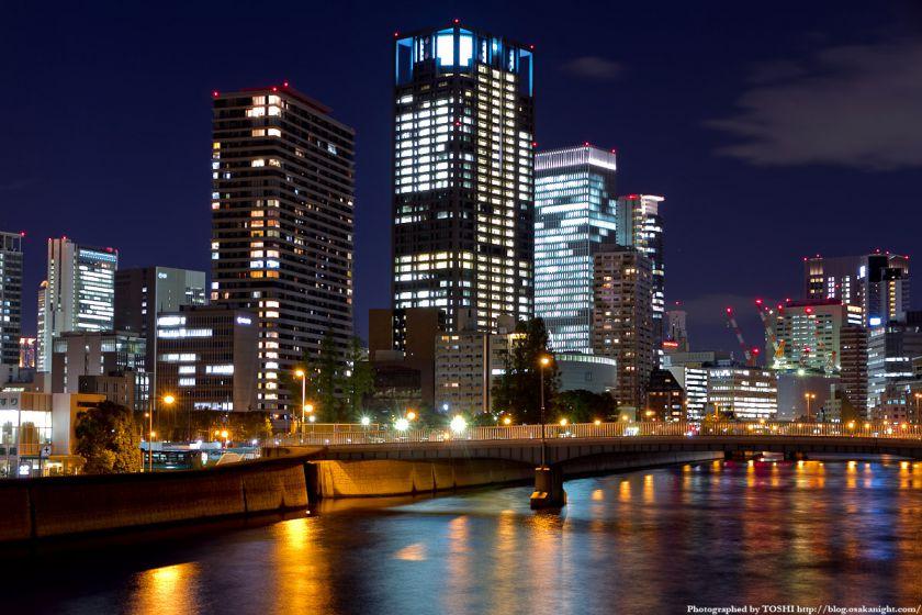 土佐堀橋の夜景 02