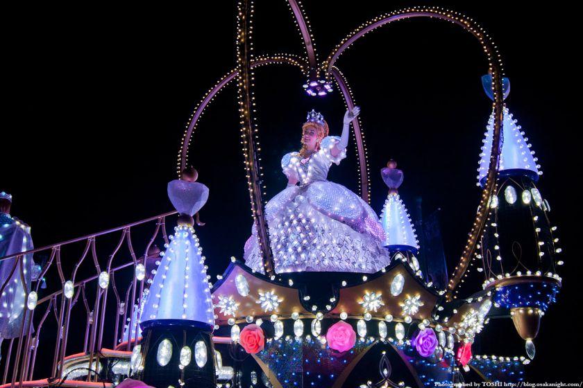 USJ マジカル・スターライト・パレード シンデレラ 03