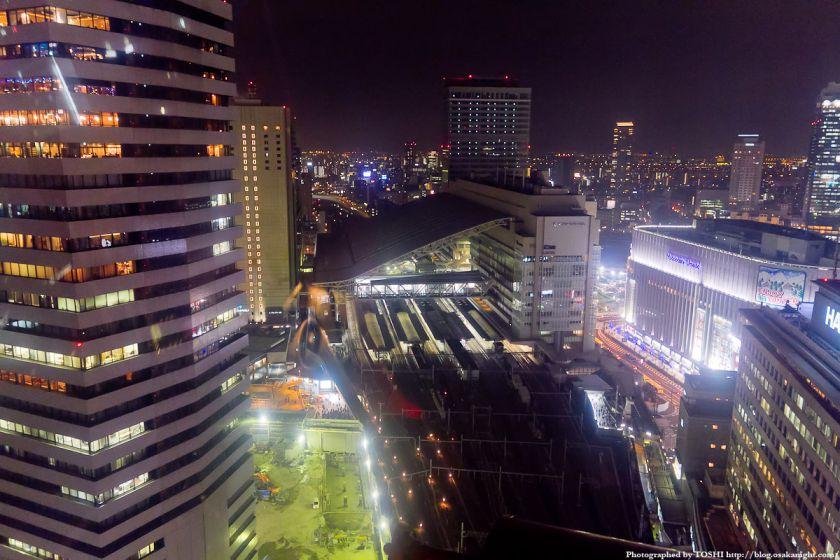 HEP FIVE 大観覧車より大阪ステーションシティの夜景 02