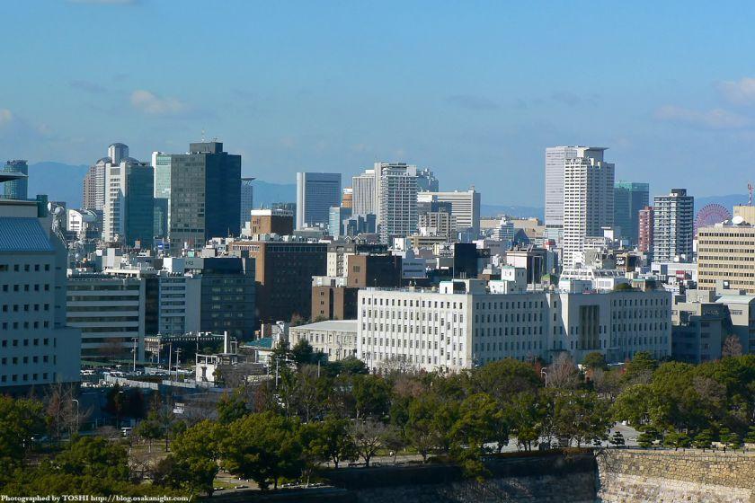 KKRホテル大阪から見た梅田方面 01