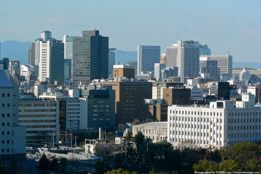 KKRホテル大阪から見た梅田方面 02
